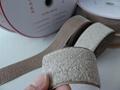 镀银纤维导电钩毛魔术贴魔鬼贴粘扣带搭扣用于导电用品 5