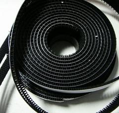 耐高溫防水強力背膠塑膠料射出鉤尼龍魔朮貼粘扣帶 魔鬼貼搭扣