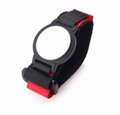 魔术贴搭扣手腕带 魔鬼贴手表带 尼龙织带缝合粘扣带钟表带