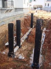 PE塑料檢查井成品污水流槽排污井