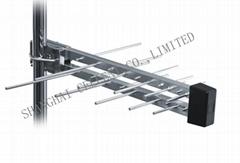 20 Element Logarithmic Aerial Log-periodic TV Outdoor Antenna