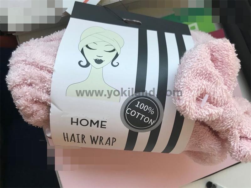 Hair Dry Hair Hat shower cap high quality turban shower cap YKT2067 2