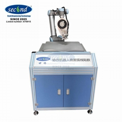 6 Axis automatic ABB robotic surface adhesive taping system