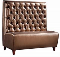 杭州餐厅实木桌椅沙发家具定制