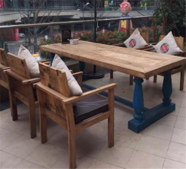 杭州咖啡廳沙發火鍋店桌椅定做 3