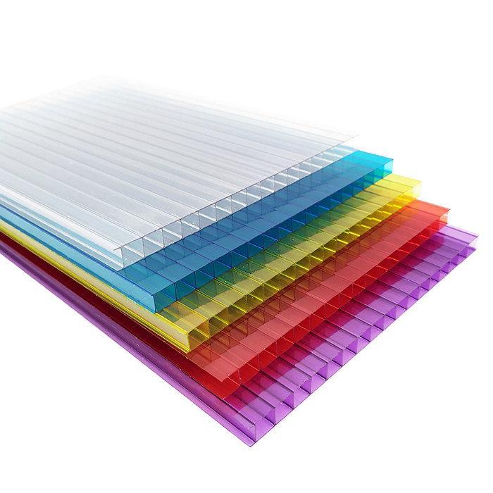 Twin Wall Polycarbonate Sheet 1