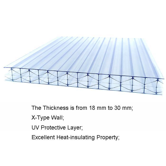 X Type Polycarbonate Sheet 1
