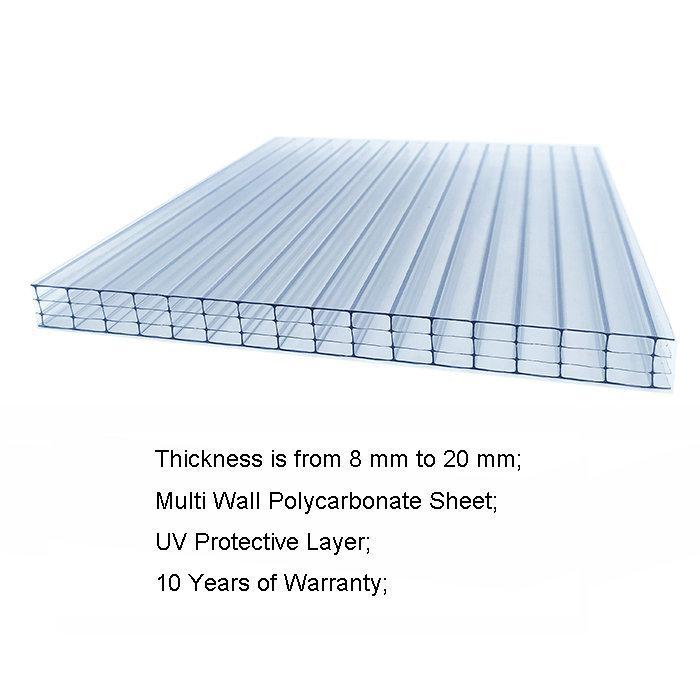 Multiwall Polycarbonate Sheet 1