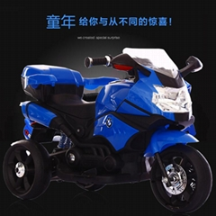 Drivable electric motorcycle