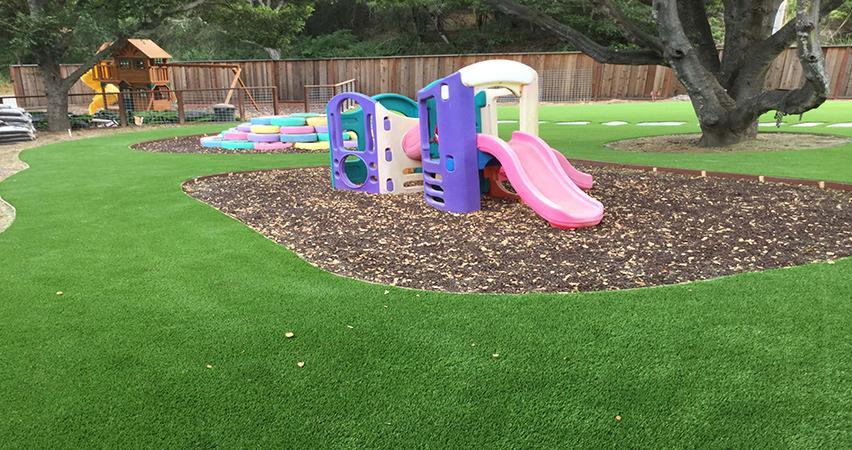美创幼儿园人造草坪 1