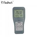 高精度雙通道紅外熱電偶溫度計工業測溫儀數字溫度表便攜式溫檢儀 2