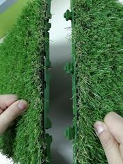 Easy install interlocking artificial turf tile 30cmx30cm size