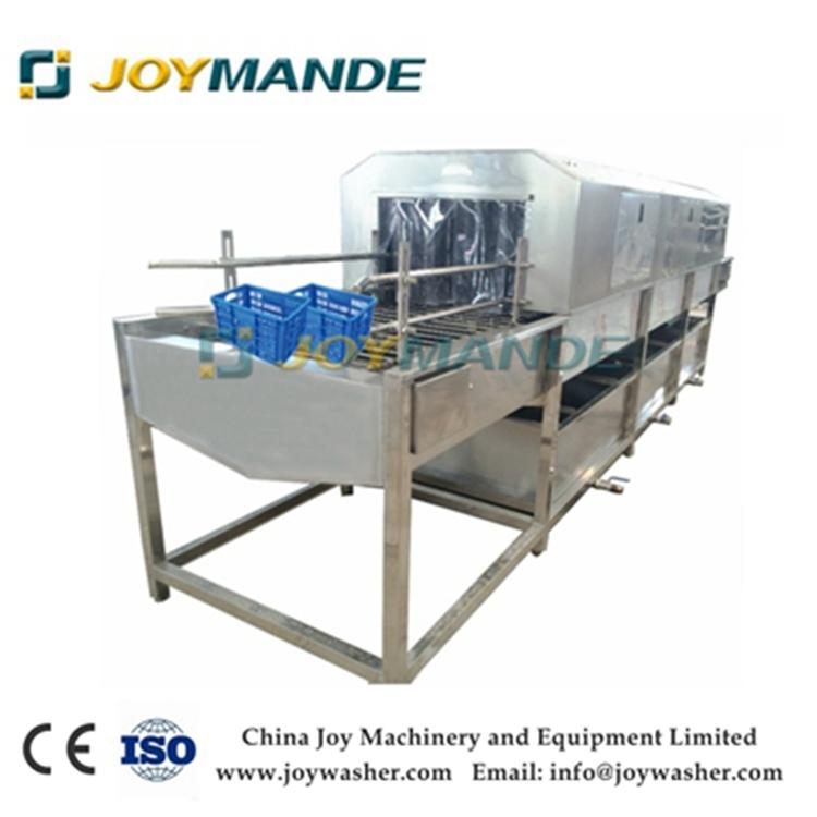 Industrial Crate Tray Pallet Box Washing Cleaning Machine Crate Washer With CE 1