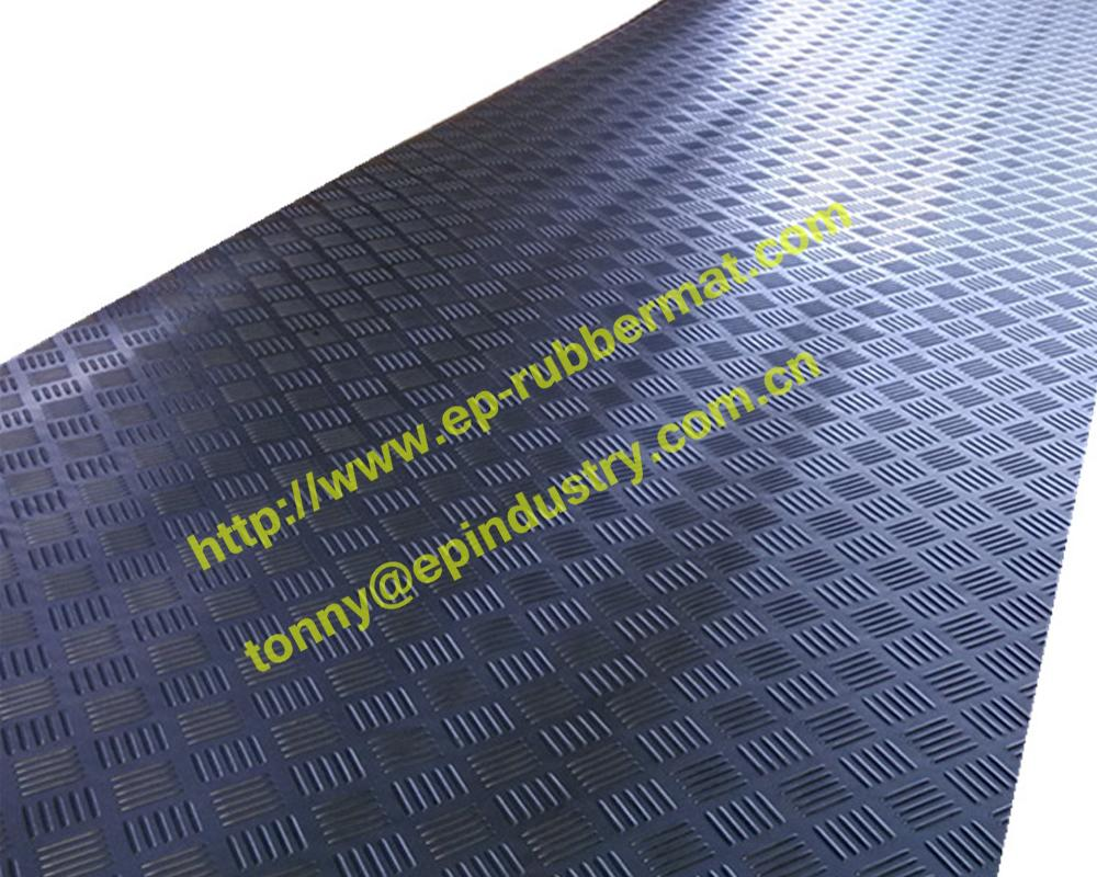 Checker Rubber Sheet from Qingdao Singreat in chinese 4