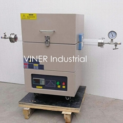 High Vacuum High Temperature Electric Vacuum Tube Furnace