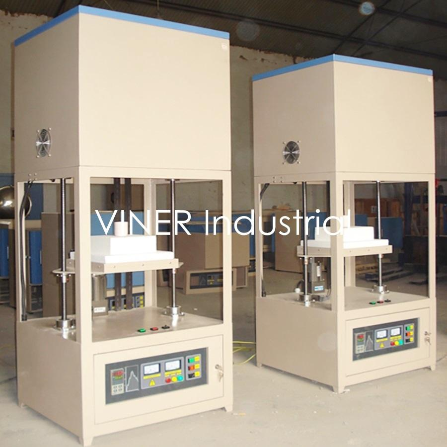 High Temperature Bottom Loading Furnace with PID Automatic Control 1