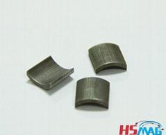 N35AH N35EH Small Arc Laminated NdFeB Magnets