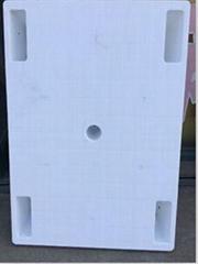 天津平板五腳托盤五腿印刷專用白色塑料托盤