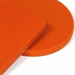 high temperature resistant foaming close cell silicone rubber pad mat heat press
