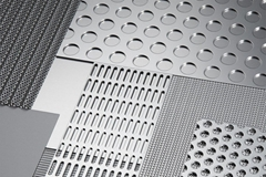 Stainless Steel Perforated Sheet Metal Mesh