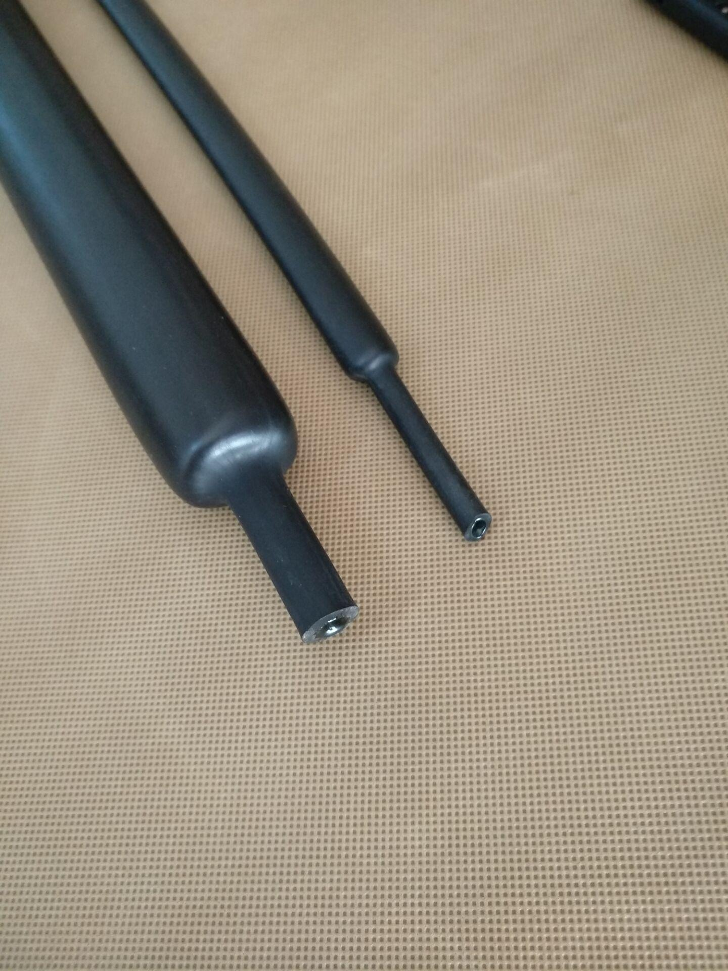 3-180MM電纜密封防水4倍5倍收縮帶膠厚壁護套熱縮管 2