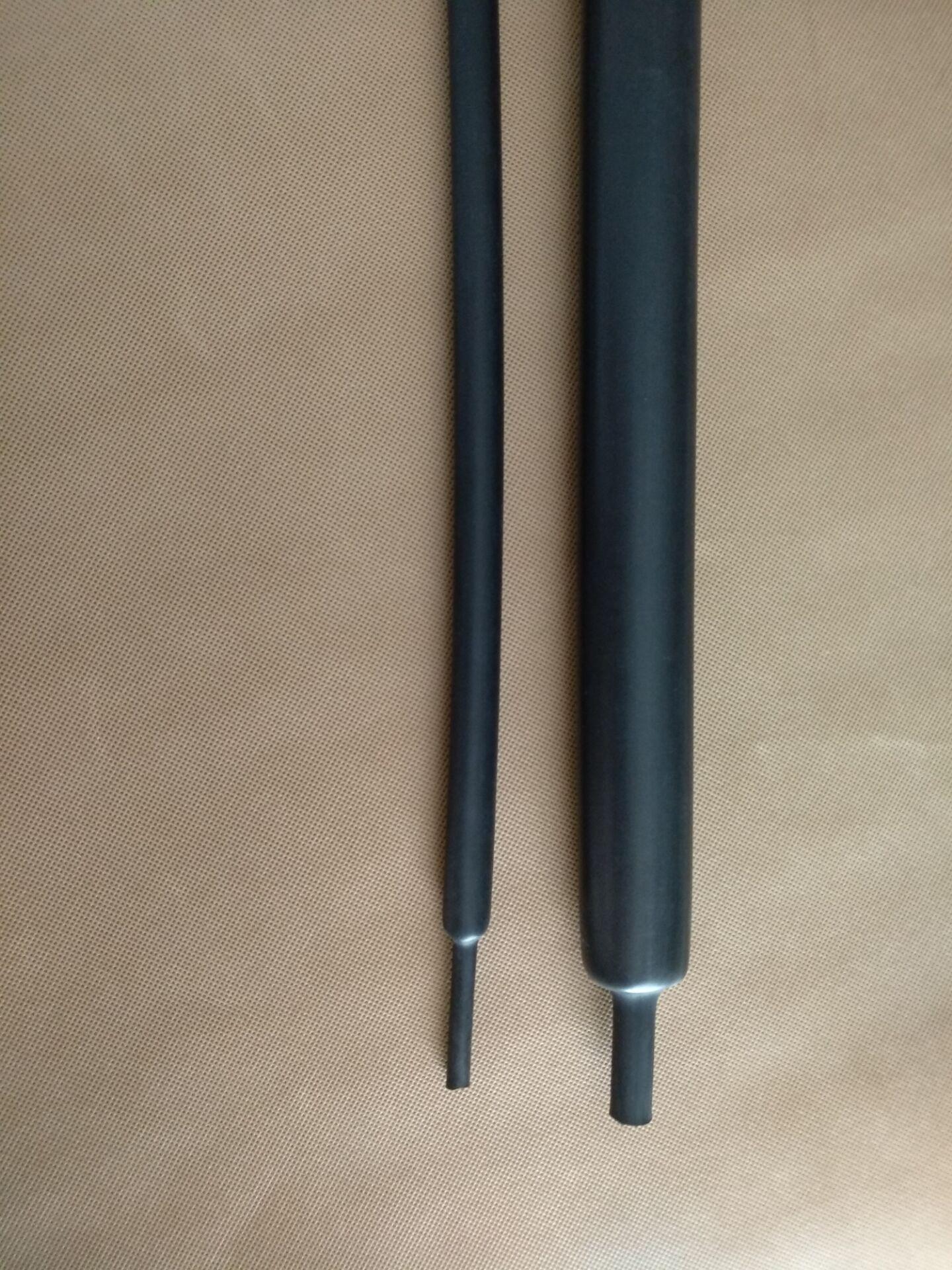 3-180MM電纜密封防水4倍5倍收縮帶膠厚壁護套熱縮管 3