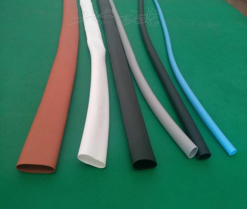 200度硅胶加厚超柔软弹性耐高温耐磨硅胶热收缩套管 1
