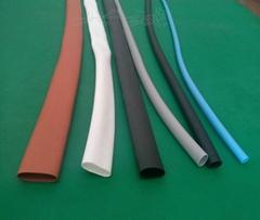 200度硅膠加厚超柔軟彈性耐高溫耐磨硅膠熱收縮套管