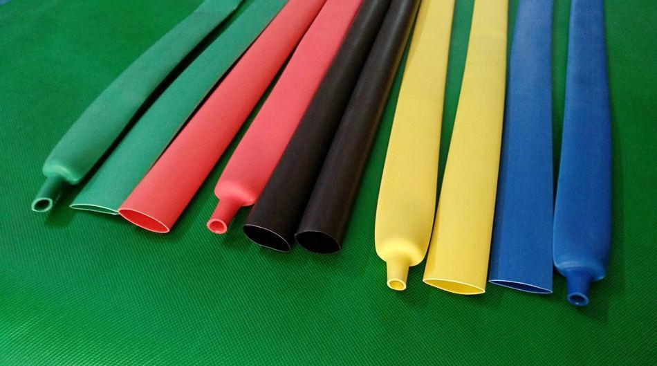 彩色多色可选双壁含胶热缩套管 2
