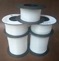 铁氟龙套管PTFE 特氟龙耐高温绝缘不收缩套管 1