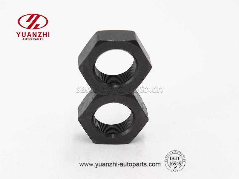 Custom Black Hexagon Lock Nuts 1