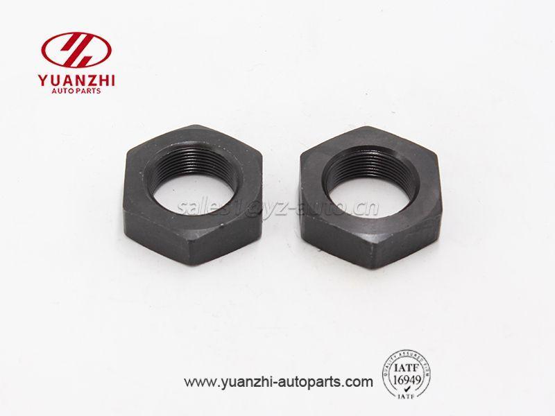 Custom Black Hexagon Lock Nuts 2