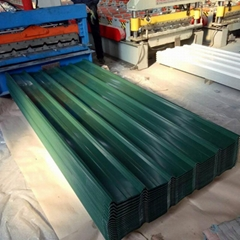 1050 Prepainted Steel Roofing Sheets with Felt in Ral7016