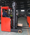 48V 3 wheel seating electric reach truck loading capacity from 1500kg to 2500kg