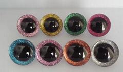 Plush toy accessories three-dimensional crystal eyes