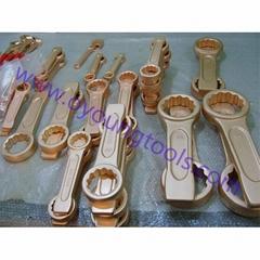 Non Sparking Tool Striking Wrench Ring Copper Beryllium ATEX