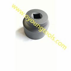 Steel Impact Socket 40 Cr-V Black Sand Finished