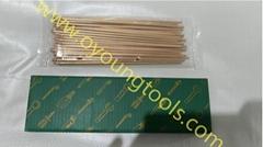 Non-Sparking Needles Scaling Copper Beryllium ATEX Certificate