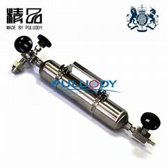 316L不鏽鋼液氧采樣鋼瓶