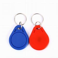 IC-UID钥匙扣卡IC可复制卡擦写卡感应门禁电梯物业小区UID空白卡