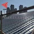765金屬屋面琉璃瓦 0.7mm鋁鎂錳合金瓦 古建築屋頂仿古小青瓦 5