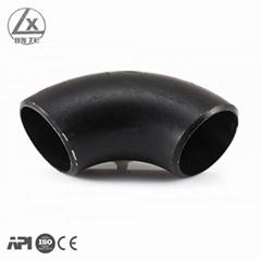 butt welded carbon steel pipe elbow