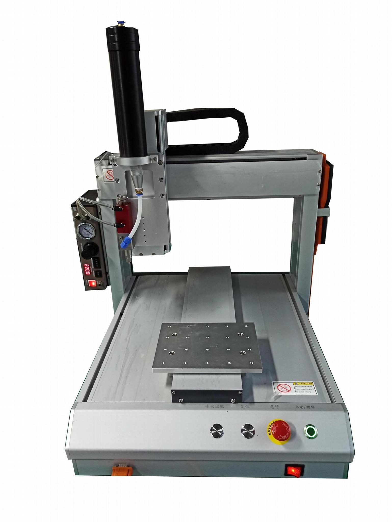 供应ZT-GJ型三轴硅胶自动点胶机 1