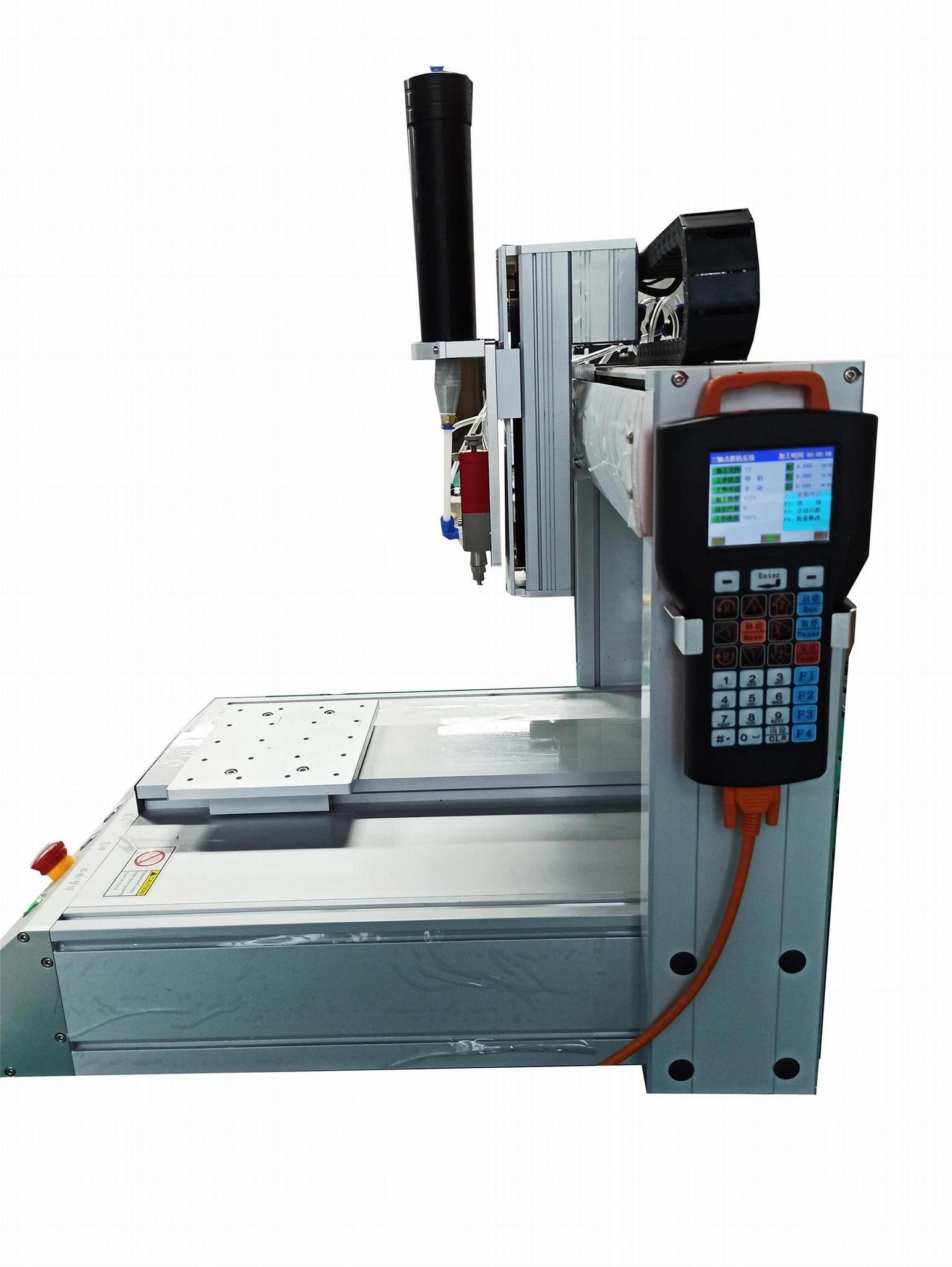 供应ZT-GJ型三轴硅胶自动点胶机 3