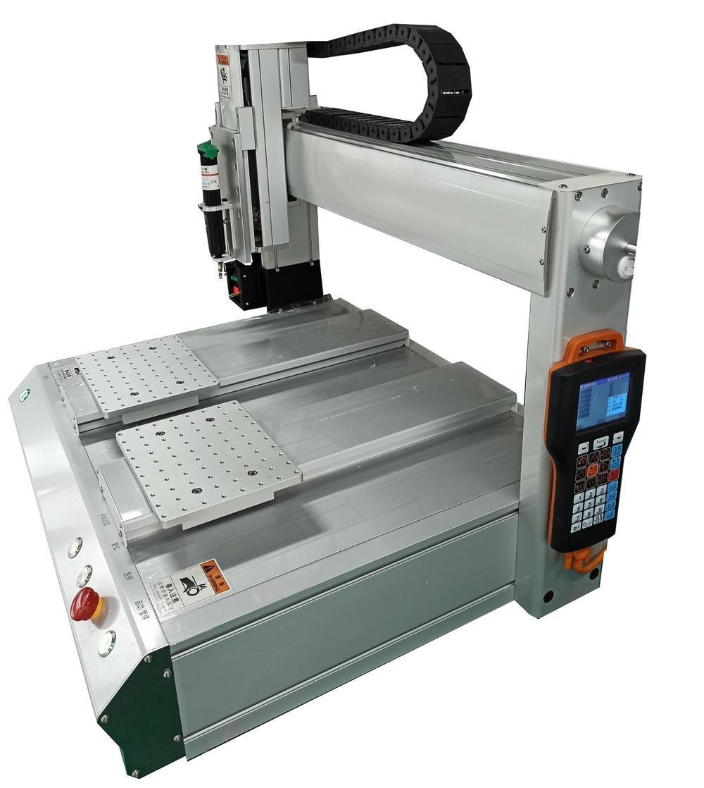 供应ZTi-D型双平台自动点胶机 1