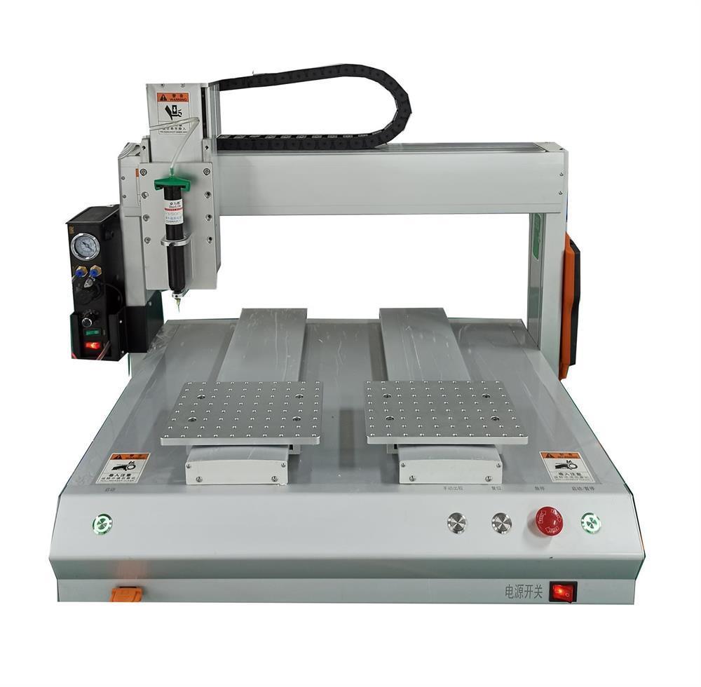 供应ZTi-D型双平台自动点胶机 3