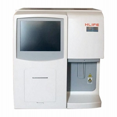 Double Channel Portable 3 Part Hematology Analyzer