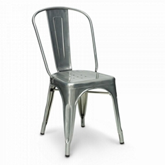 Modern Classic Designer Furniture Replica Tolix Industrial Metal Dining Chair
