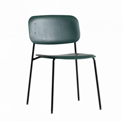 Modern Classic Designer Furniture Hay Soft Edge 10 Dining Chair