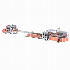 Transparent PVC sheet extrusion line